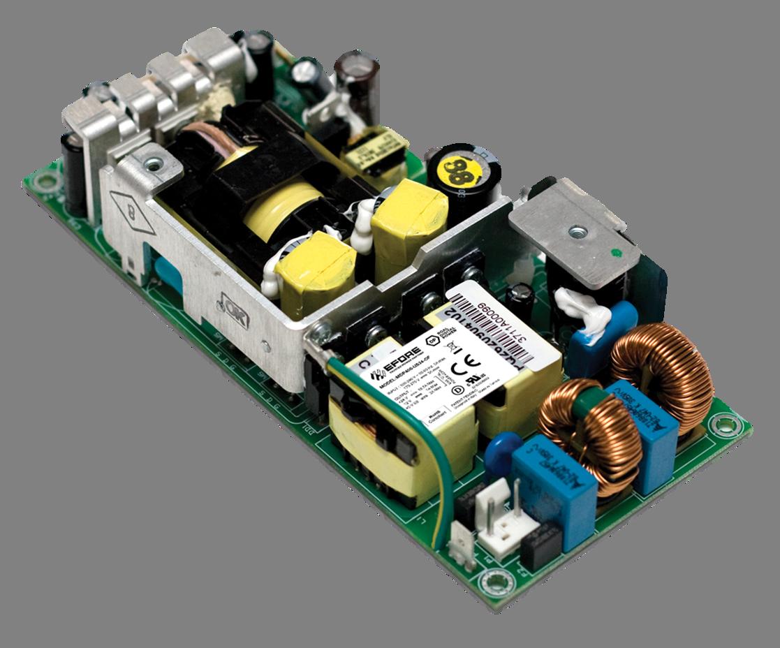MDP400 Open Frame Medical Grade Power Supply