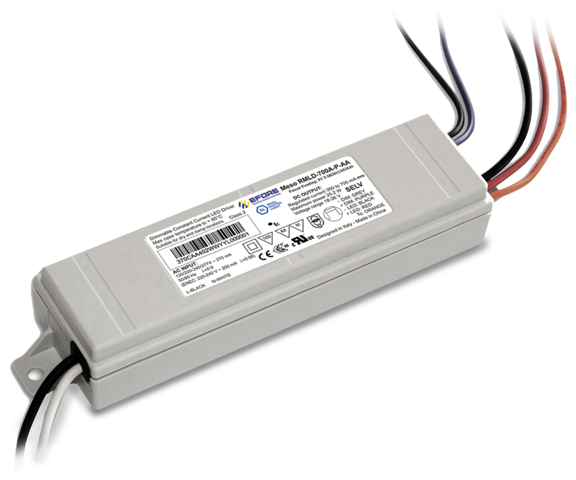 Meso 25 Plastic Case Programmable LED Driver