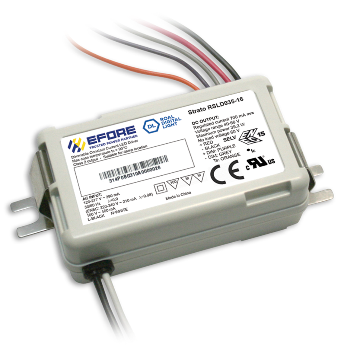 STRATO 35 Constant Current LED Driver